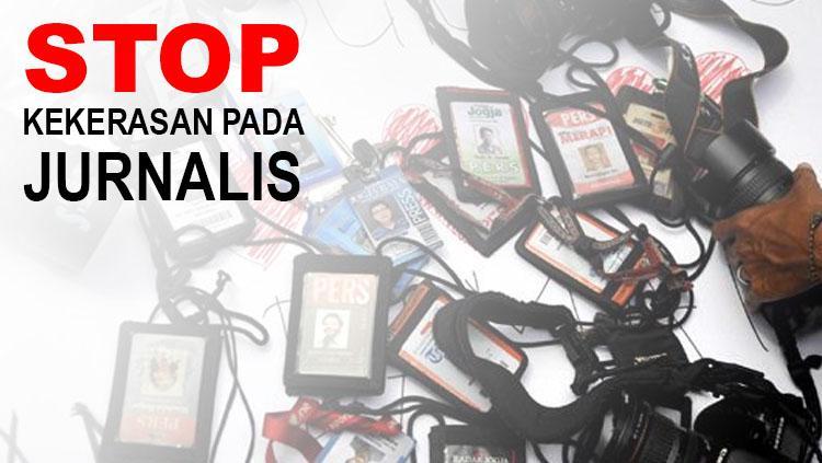 Kekerasan Terhadap Jurnalis. Copyright: INDOSPORT