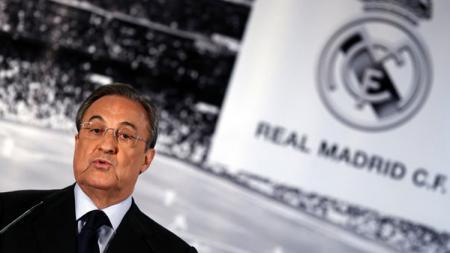Florentino Perez kembali jadi presiden Real Madrid hingga 2021. - INDOSPORT