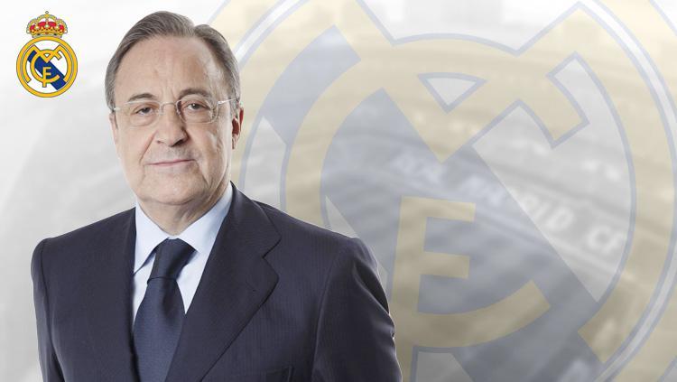 Florentino Perez kembali jadi presiden Real Madrid hingga 2021. Copyright: Grafis: Eli Suhaeli/INDOSPORT