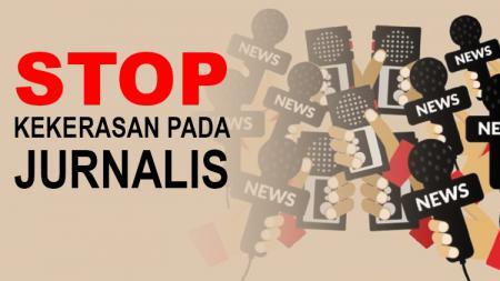 Kekerasan terhadap jurnalis masih terjadi, termasuk di dunia olahraga Indonesia. - INDOSPORT