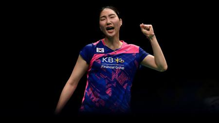 Usai gonta-ganti kewarganegaraan, pebulutangkis tunggal putri Zhang Beiwen akhirnya resmi bermain untuk Amerika Serikat pada kompetisi Swiss Open 2021. - INDOSPORT