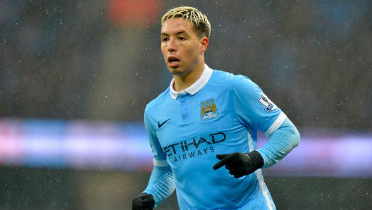 Gelandang Manchester City, Samir Nasri. Copyright: Adam Fradgley - AMA/West Bromwich Albion FC via Getty Images