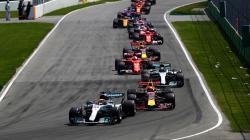 Para pembalap Formula 1.