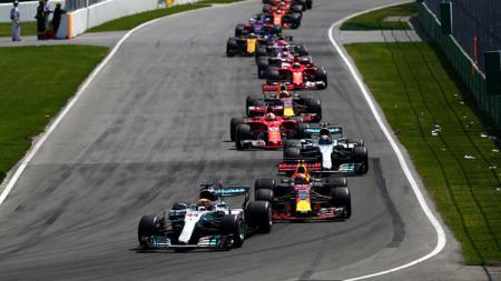 Para pembalap Formula 1. - INDOSPORT