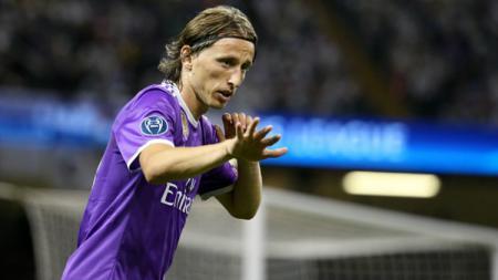 Gelandang Real Madrid, Luka Modric. - INDOSPORT