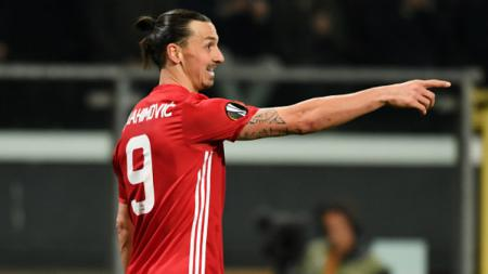 Mantan striker Manchester United, Zlatan Ibrahimovic. - INDOSPORT