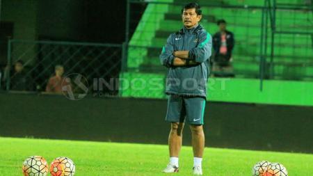 Pelatih Timnas U-19,  Indra Sjafri. - INDOSPORT
