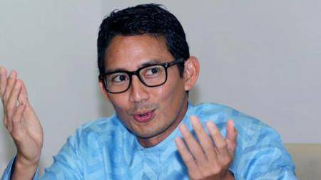 Mantan Wakil Gubernur DKI Jakarta, Sandiaga Uno menyakini bahwa olahraga eSports berpotensi membangkitkan perekonomian Indonesia. - INDOSPORT