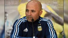 Indosport - Pelatih Timnas Argentina, Jorge Sampaoli.
