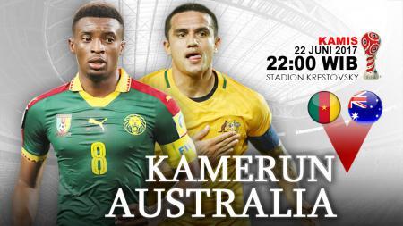 Prediksi Kamerun vs Australia. - INDOSPORT