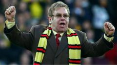 Indosport - Elton John sempat menjadi pemilik klub Watford.