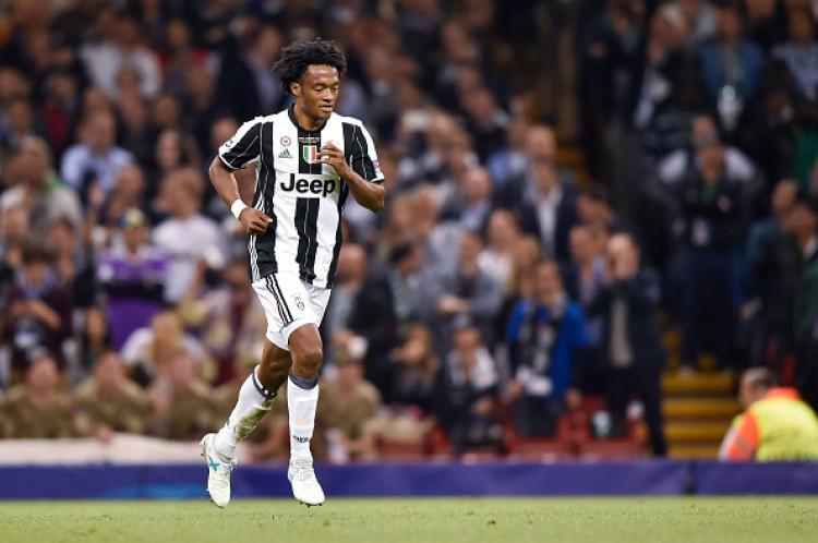 Gelandang sayap Juventus, Juan Cuadrado. Copyright: INDOSPORT