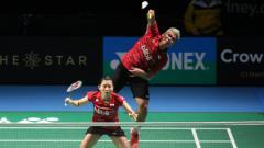 Indosport - Praveen Jordan/Debby Susanto sukses lolos ke babak dua Australia Open 2017.