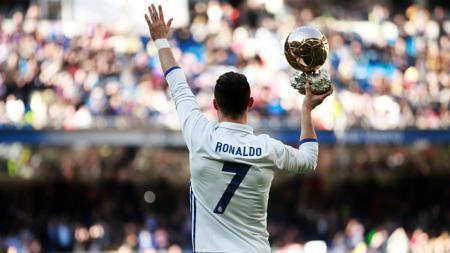 Megabintang Real Madrid, Cristiano Ronaldo. - INDOSPORT