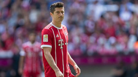 Penyerang Bayern Munchen, Robert Lewandowski. - INDOSPORT