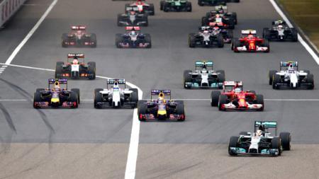 Ilustrasi balapan Formula 1. - INDOSPORT