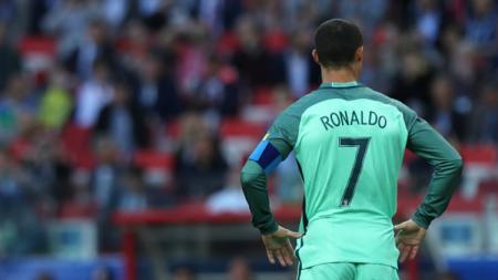 Bintang Timnas Portugal, Cristiano Ronaldo. - INDOSPORT