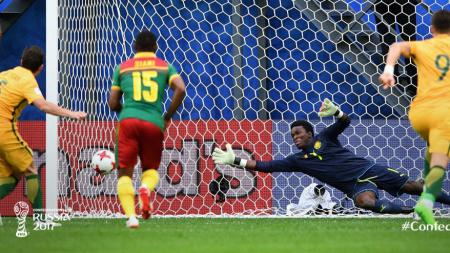 Kamerun vs Australia. - INDOSPORT