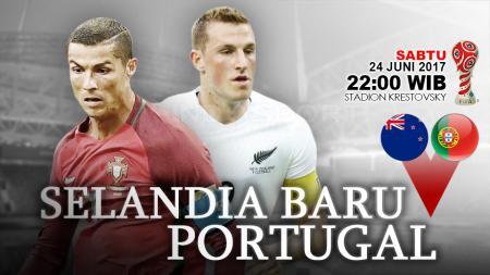 Prediksi Selandia Baru vs Portugal. - INDOSPORT