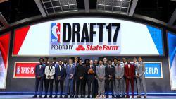 NBA Draft melakukan sesi foto bersama.