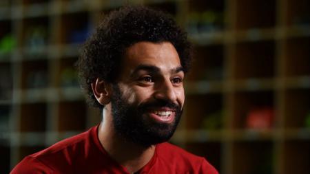 Rekrutan anyar Liverpool, Mohamed Salah. - INDOSPORT