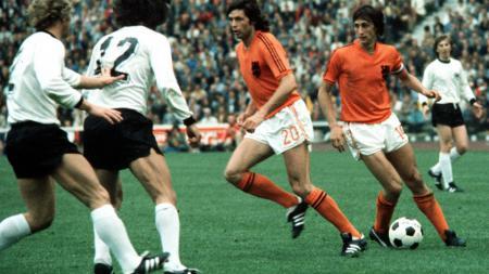Jerman vs Belanda di Final Piala Dunia 1974. - INDOSPORT