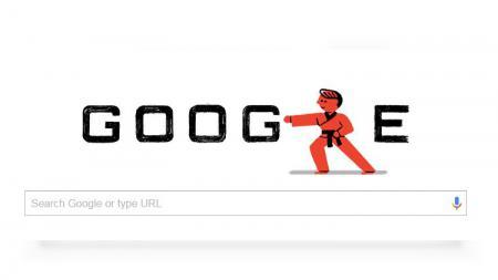 Google Doodle Taekwondo. - INDOSPORT
