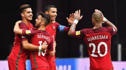 Timnas Portugal menang atas Selandia Baru.