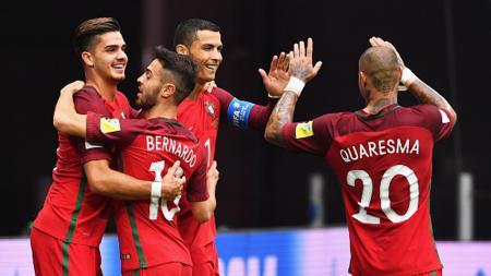 Timnas Portugal menang atas Selandia Baru. - INDOSPORT
