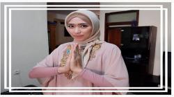 Tampila Yola saat mengenakan hijab.