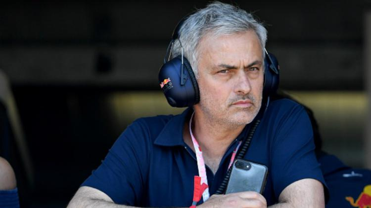Jose Mourinho, pelatih Manchester United. Copyright: Getty Images
