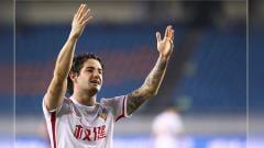 Indosport - Alexandre Pato, striker Tianjin Quanjian.