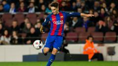 Indosport - Gelandang tengah Barcelona, Denis Suarez.