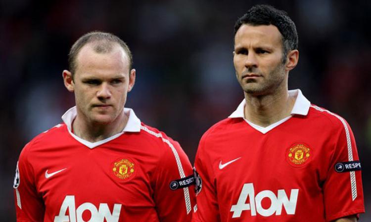 Wayne Rooney dan Ryan Giggs. Copyright: Zimbio