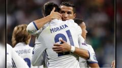 Indosport - Cristiano Ronaldo Diuntungkan Dengan Resminya Morata ke Juventus