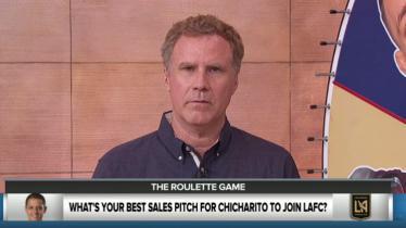 Will Ferrell memohon pada Chicharito untuk bergabung ke klub miliknya. - INDOSPORT