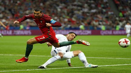 Portugal vs Chile. - INDOSPORT