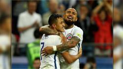 Chile berhasil lolos ke final Piala Konfederasi 2017.