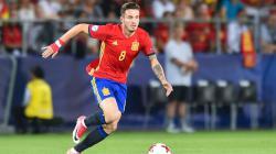 Saul Niguez ketika membela Timnas Spanyol U-21.