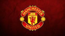 Logo Manchester United.