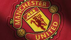 Indosport - Logo Manchester United.