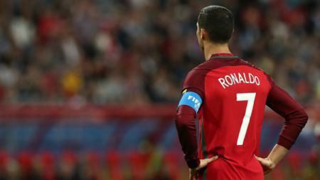 Kapten Timnas Portugal, Cristiano Ronaldo. - INDOSPORT
