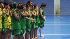 Indosport - Timnas Futsal Putri Indonesia.
