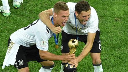 Leon Goretzka dan Joshua Kimmich (Jerman). - INDOSPORT