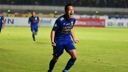 Striker Persib Bandung, Shohei Matsunaga. - INDOSPORT