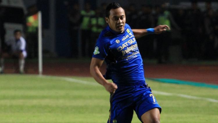 Atep (Persib Bandung) Copyright: twitter@Liga1Match