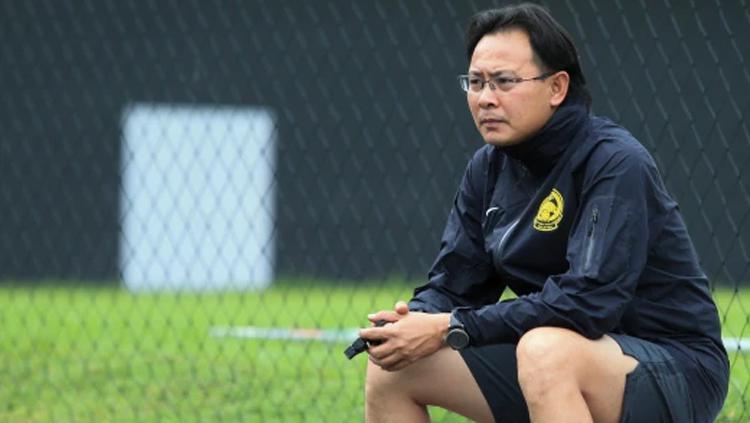 Pelatih Timnas Malaysia U-22, Ong Kim Swee. Copyright: Hasriyasyah Sabudin/Berita Harian