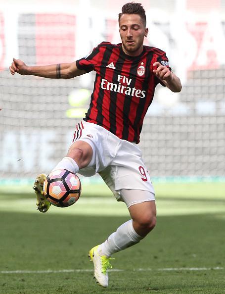 Andrea Bertolacci, gelandang AC Milan. Copyright: INDOSPORT
