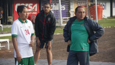 Edy Rahmayadi dan Joko Driyono ditagih utang oleh eks Ketua Umum PSSI. - INDOSPORT