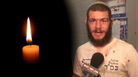 Aaron Rajman, seorang petarung MMA Yahudi  tewas ditembak orang yang dikenal. - INDOSPORT